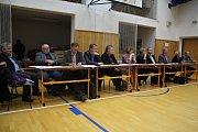 Setkání obyvatel Vrahovic s vedením města Prostějova