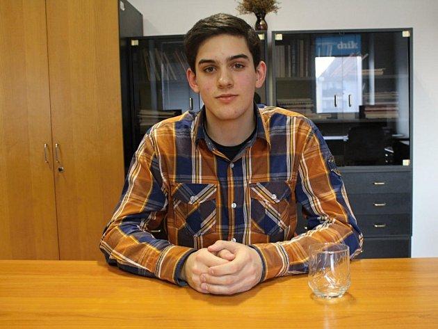 Starosta dětského zastupitelstva Jakub Huňka