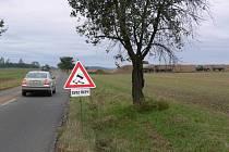 Svoz řepy z Kostelce na Hané do Vrbátek omezí na dva dny projíždějící řidiče.