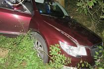 Nehoda superbu mezi Mostkovicemi a Smržicemi na Prostějovsku. 13.10. 2019