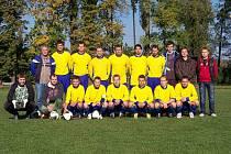 Fotbalisté mostkovického A-týmu