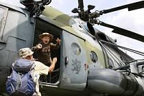 Dětský den u vojáků. Ilustrační foto