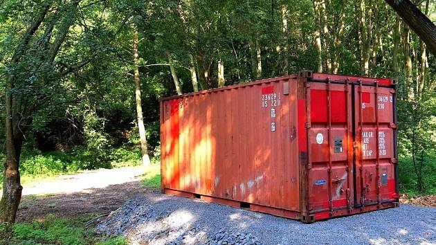 Kontejner se srážedly u Plumlova