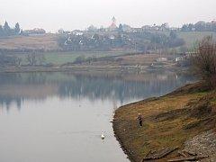 Plumlovská přehrada - 16. ledna 2014