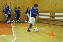 Malí fotbalisté začnou příští rok trénovat na umělé trávě v novém areálu v ulici E. Valenty. Jeho stavba přijde na více než padesát milionů korun