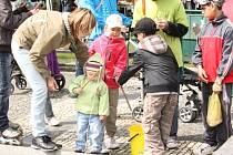 Za zábavou i poučením se v sobotu vypravili lidé na prostějovské náměstí.