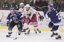 Prostějovští hokejisté se v sobotu na domácím ledě utkali s lídry první ligy kladenskými Rytíři