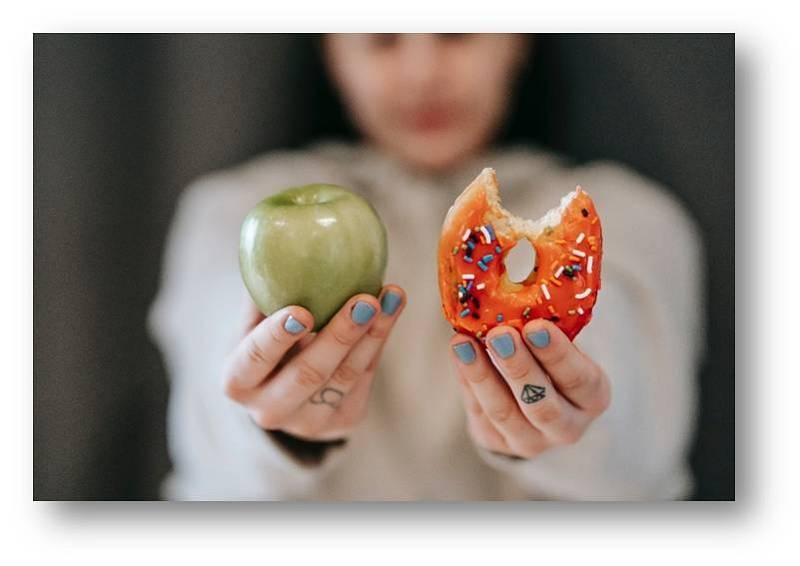 Pro získání optimální váhy vybírejte kvalitnější potraviny.