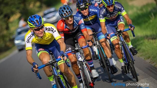 Cyklista TUFO-PARDUS Prostějov Karel Tyrpekl se blýskl v závodu Českého poháru.