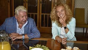 Kateřina Siniaková navštívila prostějovskou radnici