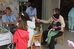 Zábavné odpoledne v prostějovské nemocnici