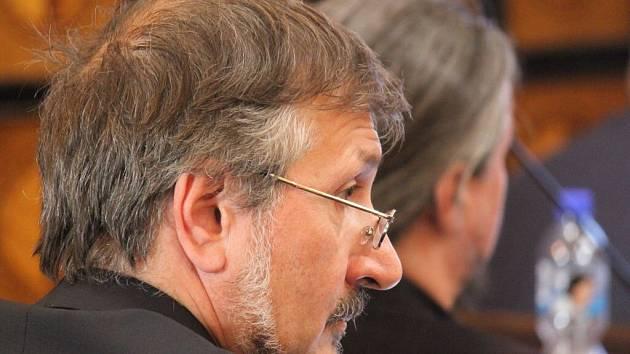 Zastupitel Aleš Matyášek.