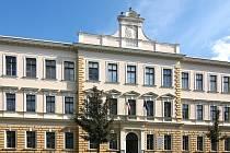 Budova Střední odborné školy podnikání a obchodu v Prostějově