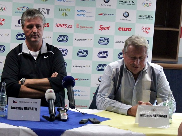 Jaroslav Navrátil a Miroslav Černošek