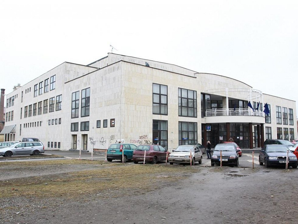 Společenský dům v Komenského ulici v Prostějově