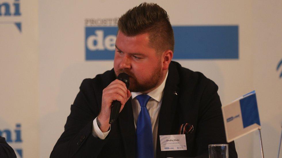 Debata Deníku s prostějovským primátorem - Ondřej Dluhí