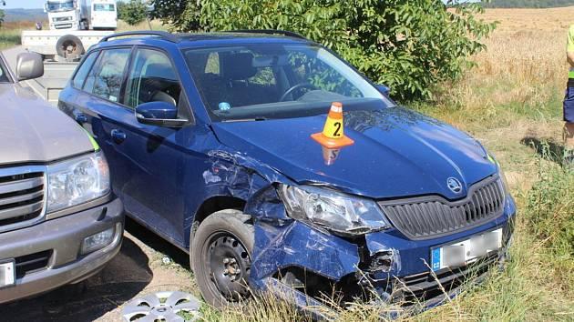 Nehoda u Zdětína