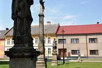 Sakrální památky u kostela sv. Máří Magdalény v Němčicích nad Hanou