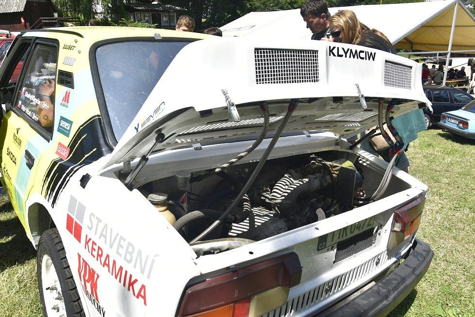 Hanácké Škoda sraz 2021 v plumlovském kempu Žralok, 10. 7. 2021