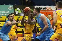 Basketbalové utkání BK SLUNETA Ústí a BK Olomoucko