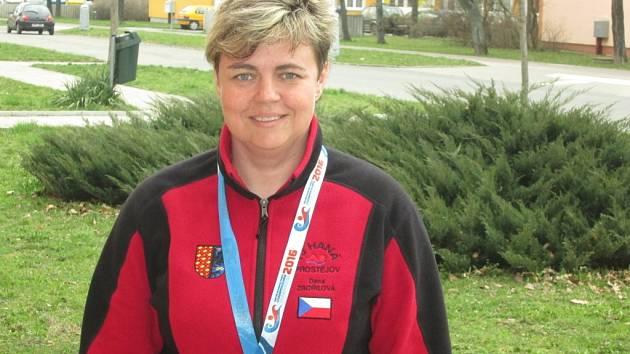 Plavkyně Dana Zbořilová