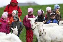 Na kozí farmě Rozinka