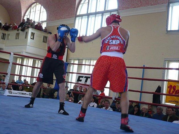 Prostějovští boxeři rozdrtili Ústí