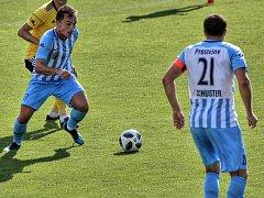 Fotbalisté 1.SK Prostějov. Ilustrační foto