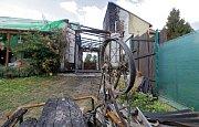 Po požáru garáže a domu v Lutotíně na Prostějovsku
