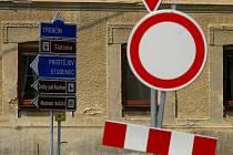 Úpravy křižovatky v Olšanech u Prostějova