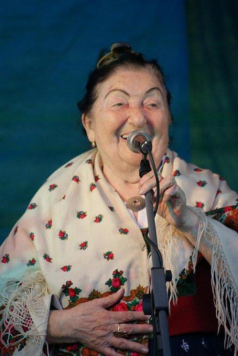 Plumlovské vinobraní 2010 - Jarmila Šuláková