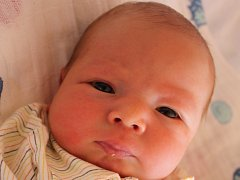 Dominik Polák, Prostějov, narozen 5. srpna, 50 cm, 3 400 g