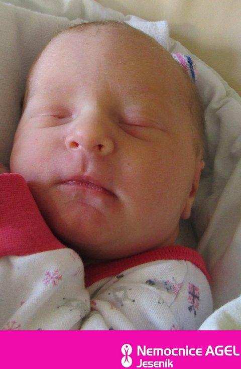 Anna Kuchařová, Vidnava, narozena 12. dubna 2021