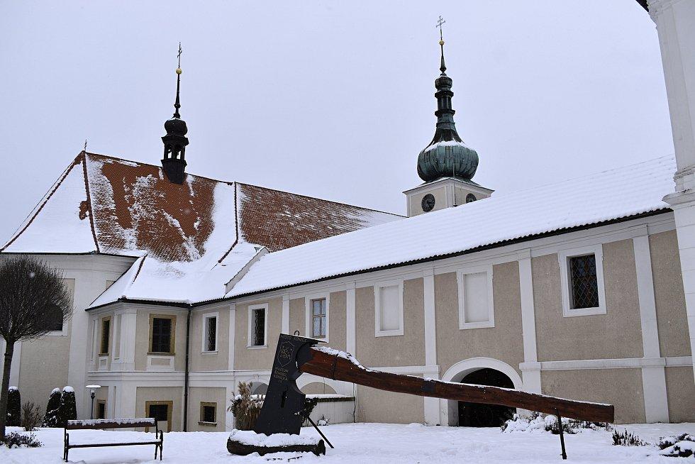 Zima v Konici - 16.1. 2021