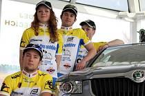 Cyklisté Prostějova v prostorách autosalonu Automechanika představili nový tým U23 pro nadcházející sezonu, nová kola a nové sponzory.