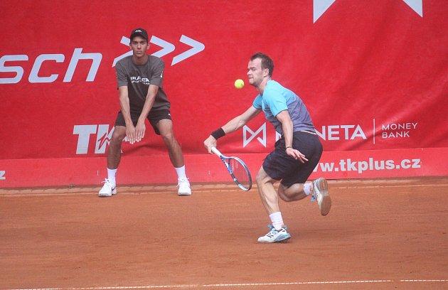 Finále kvalifikace a zápasy 1. kola Czech open. (Jan Šátral)