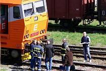 Tragický střet chodce s vlakem u Prostějova