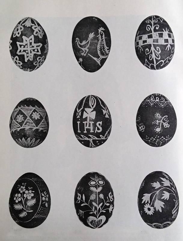 5. Výstava velikonočních kraslic v rámci oslav výročí 400 let povýšení Němčic na městečko vr. 1963.