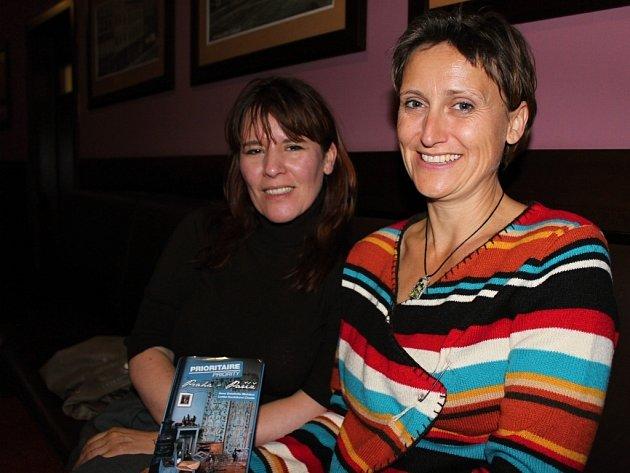 Anne Delaflotte Mehdevi (vlevo) a Lenka Civade