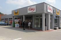 Supermarket v Němčicích