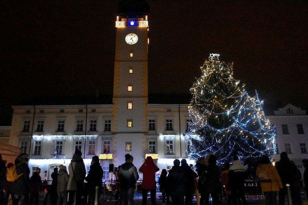 Vánoční strom 2020 v Litovli
