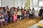 Konec školního roku ve Vrchoslavicích, 30.6. 2020