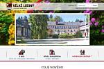 Náhledová stránka webu obce Velké Losiny