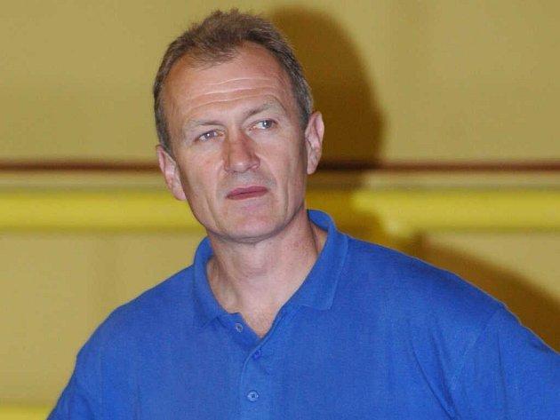 Trenér prostějovských basketbalistů Miroslav Marko.
