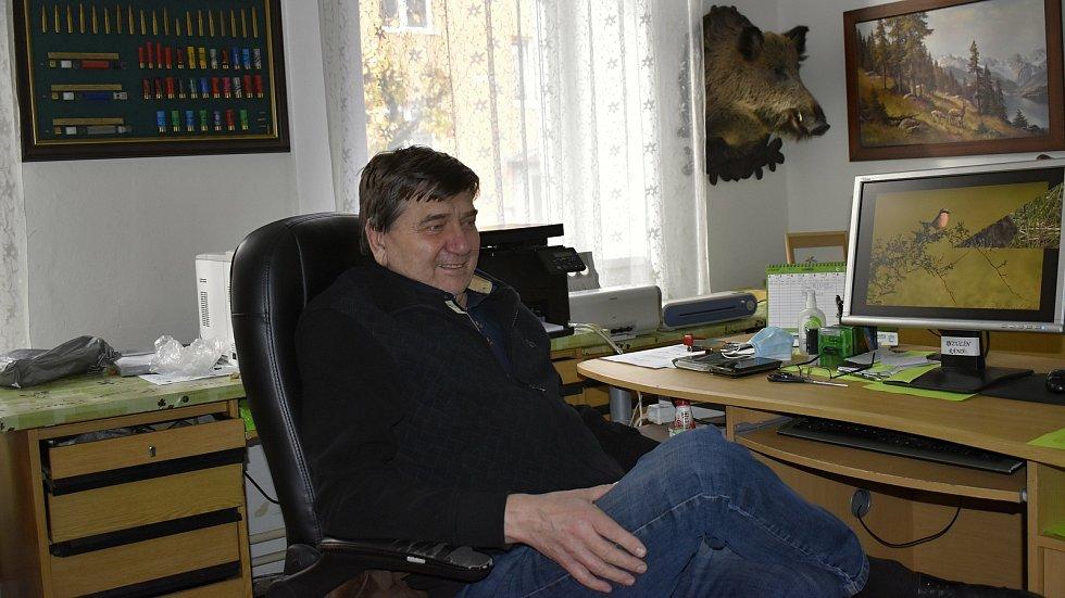 Jiří Procházka, jednatel Okresního mysliveckého spolku Prostějov