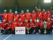 Tenisový tým TK Agrofert Prostějov porazil ve finále extraligy I.ČLTK Praha 6:0.