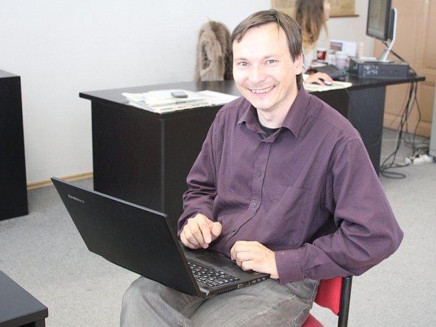 Vedoucí prostějovské hvězdárny Karel Trutnovský v on-line rozhovoru pro Deník