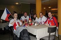 V restauraci U Hudečků v Prostějově se Česku fandilo o sto šest