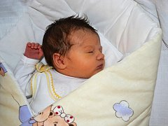 Jana Gorcová, Prostějov, narozena 11. listopadu, 50 cm, 3250 g