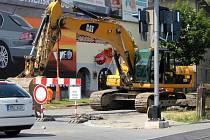 Nového povrchu se dočkají ulice Barákova a Sladkovského v Prostějově
